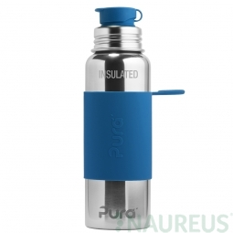 Pura® TERMO fľaša so športovým uzáverom 650ml - Modrá