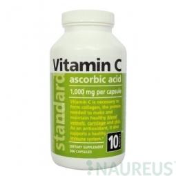 Vitamín C 1000 mg, 300 kapsúl