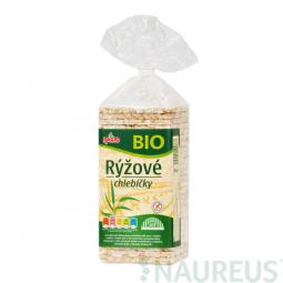 AKCIA SPOTREBA: 11.07.2019 Chlebíčky ryžové bezlepkové 140 g BIO RACIO