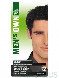 Henna Plus Prírodná farba pre mužov Čierna