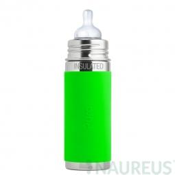 Pura® dojčenská TERMO fľaša 260ml - Zelená