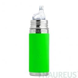 Pura® TERMO fľaša s náustkom 260ml - Zelená