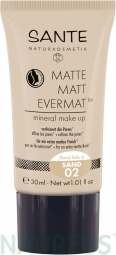Matte Matt EvermatTM minerálny make-up 02 Sand 30 ml