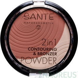 2v1 Contouring & Bronzing púder 01 light-medium 9g