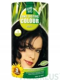 HennaPlus Dlhotrvajúca farba Čierna 1