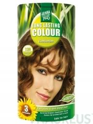 HennaPlus Dlhotrvajúca farba Škoricová 7.38