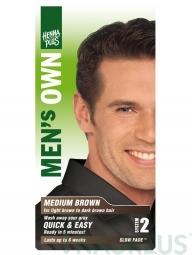 HennaPlus  Prírodná farba pre mužov Hnedá