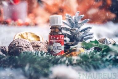 Vianoce prírodný éterický olej-silica