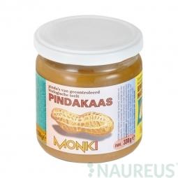 Krém arašidový jemný 330 g BIO Monk