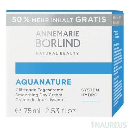 Aquanature Vyhladzujúci Hydratačný denný krém 50ml+50% Zadarmo
