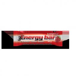 3Energy bar 40 g/1 kartón/32 ks jahoda/jogurtová poleva