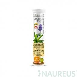 AcidoFit 16 tabliet pomaranč-limetka