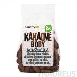 Kakaové bôby nepražené celé 100 g BIO COUNTRY LIFE