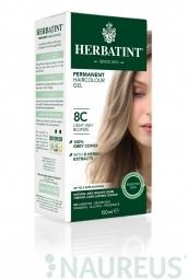 HERBATINT permanentná farba na vlasy svetlo popolavá blond 8C