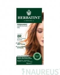 HERBATINT permanentná farba na vlasy svetle medená blond 8R
