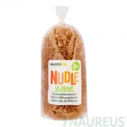 Cestoviny rezance pšeničné vlasové 200 g BIO COUNTRY LIFE