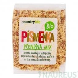 Cestoviny písmenká pšeničné mix 250 g BIO COUNTRY LIFE