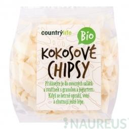 Kokosové chipsy 150 g BIO COUNTRY LIFE