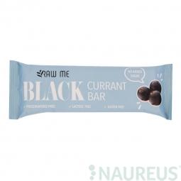Tyčinka ovocná s príchuťou čiernych ríbezlí 42 g RAW ME