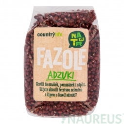 Fazuľa adzuki 500 g COUNTRY LIFE