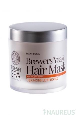 Posilňujúca vlasová maska Pivné kvasnice BANIA DETOX