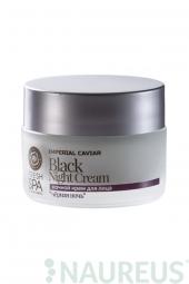 Čierny omladzujúci pletový nočný krém na tvár Imperial Caviar
