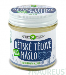 Detské telové maslo BIO 120 ml