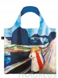 Nákupná taška LOQI Museum, Munch - Four Girls on the Bridge