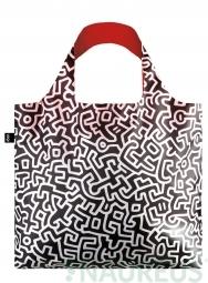 Nákupná taška LOQI Museum, Haring - Untitled