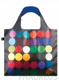 Nákupná taška LOQI Museum, Gernes - Dots