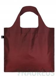 Nákupná taška LOQI Puro Sangria