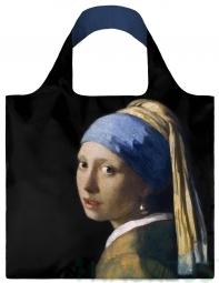 Nákupná taška LOQI Museum, Vermeer - Girl with a Pearl Earring