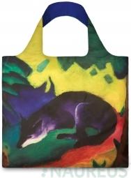 Nákupná taška LOQI Museum, Marc - Blue Fox