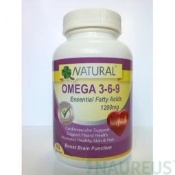Omega 3-6-9, 60 kapsúl