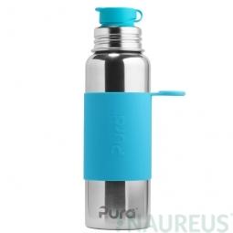 Pura® nerezová fľaša so športovým uzáverom 850ml - Aqua