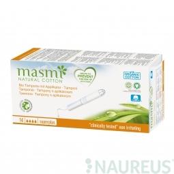 Tampóny z organickej bavlny s aplikátorom Super Plus MASMA