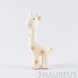 Hrkálka a hryzátko z prírodnej gumy - Žirafka