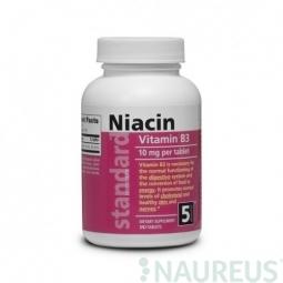 Vitamín B3 Niacín 10 mg, 180 tabliet