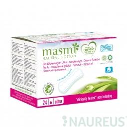 Vložky slipové ultratenké z organickej bavlny 24ks MASMA