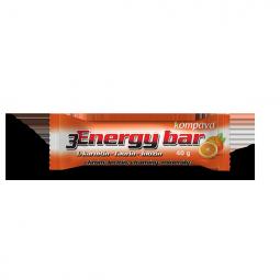 3Energy bar 40 g/1 kartón/32 ks pomarančová/mliečna poleva