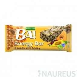 Tyčinka BA! zo semienok a medu 40g