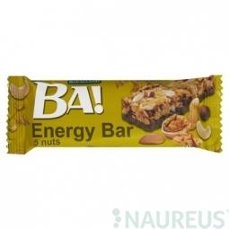 Cereálna tyčinka BA! s orechami a kakaovou polevou