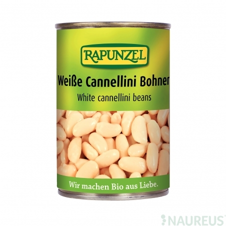 Biele fazule sterilizované BIO 400 g Rapunzel *