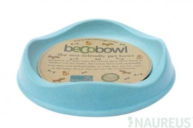 Miska pre mačku, BecoBowl-modrá, EKO