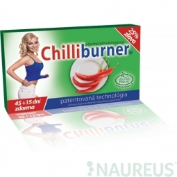 CHILLIBURNER-podpora chudnutia 60 tbl.- 45+15 dní ZDARMA!