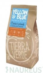 Čistiaci piesok z prášku z mydlových orechov 1 kg (zip vrecko)