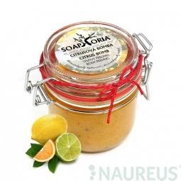Citrusová bomba - organický soľný telový peeling