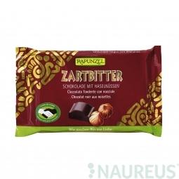 Čokoláda horká s lieskovými orieškami BIO 100 g Rapunzel *
