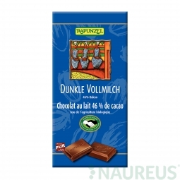 Čokoláda horko mliečna BIO 100 g Rapunzel *