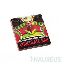 Čokoláda malinová RAW BIO 35 g Lifefood